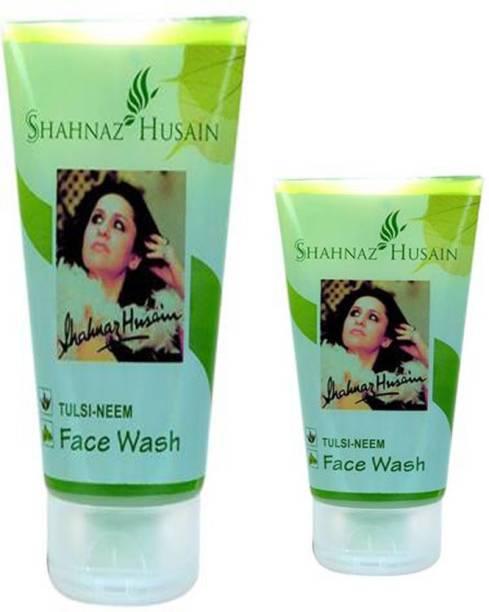 Shahnaz Husain Neem Tulsi Fw150*1/1-50*1 Pack Of 2 Face Wash