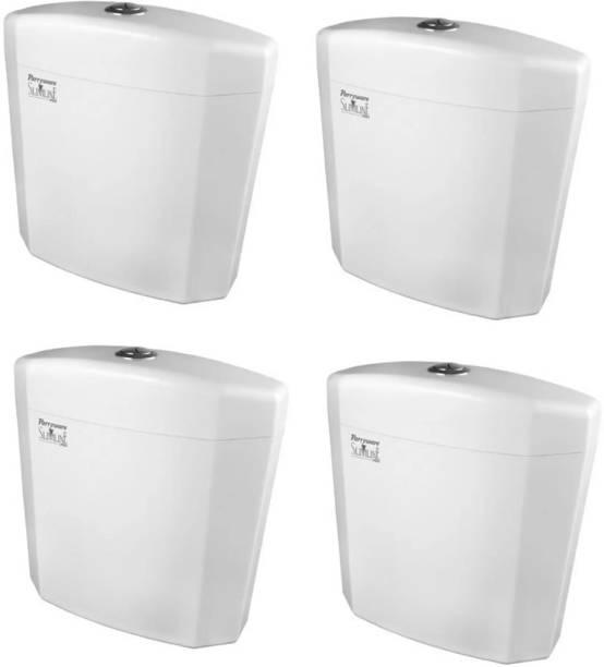 Parryware Alpha Single Flush Tank set of 4 pic Single Flush Tank