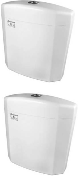 Parryware Alpha Single Flush Tank set of 2 pic Single Flush Tank
