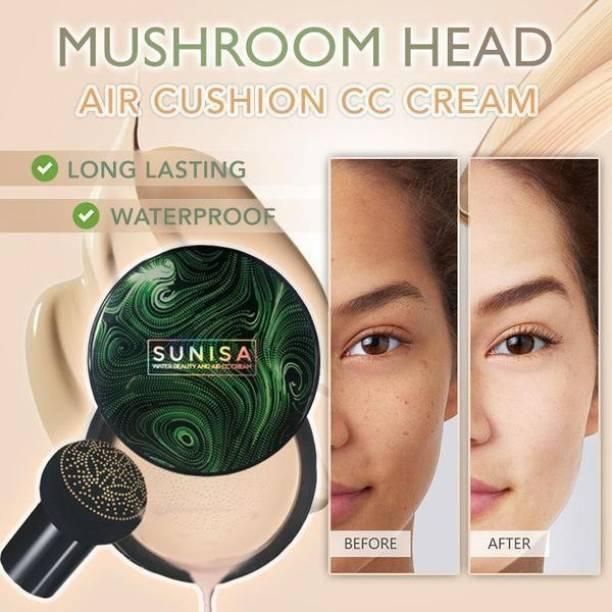 Triangle Ant Beauty Air Cushion Mushroom BB & CC Cream Foundation Waterproof Foundation