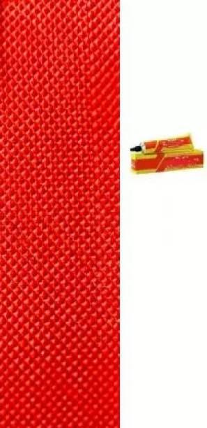 EXPSPORTS Red Cricket bat toe-guard-pack-1-fevibond Cricket Guard Combo