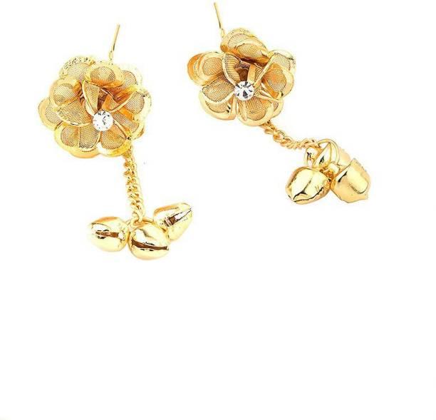 Voylla Flowers and Bells Hair Pin Bun Clip