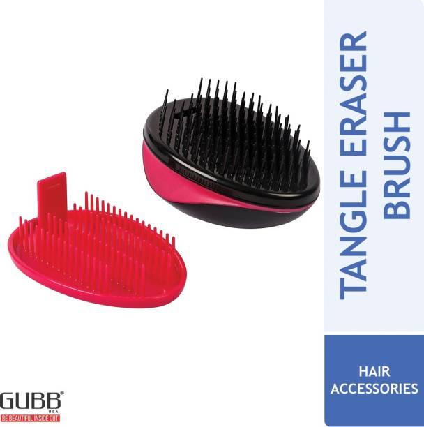 GUBB Tangle Eraser Detangler Hair Brush For Women & Men Scottish Range For Professional Hair Styling