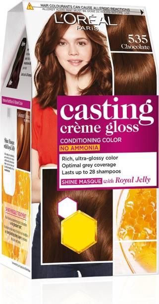 L'Oréal Paris Casting Creme Gloss Hair Color , Chocolate 535