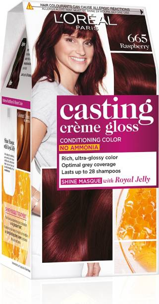 L'Oréal Paris Casting Creme Gloss Hair Color , 665 Raspberry