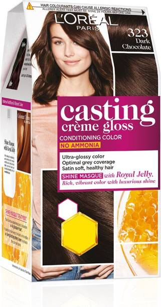 L'Oréal Paris Casting Creme Gloss Hair Color , Sonam's Dark Chocolate 323
