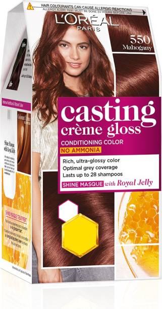 L'Oréal Paris Casting Creme Gloss Hair Color , Mahogany 550