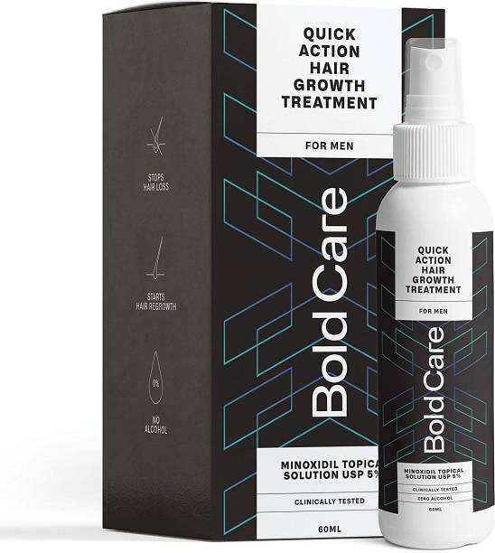 Bold Care Hair Serum for Men - 5% Topical Solution for Controlling Hair Fall, Healthy and Strong Hair