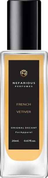 Nefarious French Vetiver Eau de Parfum  -  20 ml