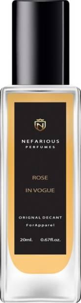 Nefarious Rose In Vogue Eau de Parfum  -  20 ml