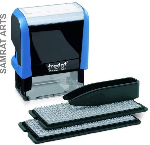 Trodat 4912 Your Self Stamp / Self Macking Stamp Kit Self Inking