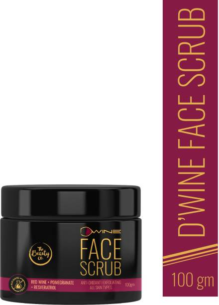The Beauty Co. D'Wine Face Scrub  Made In India Scrub