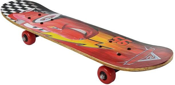 ZARTHA RED CAR SKATEBOARD 23 inch x 6 inch Skateboard