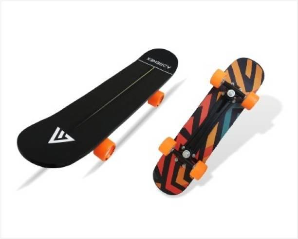 Adrenex by Flipkart Freaky 7 inch x 27 inch Skateboard