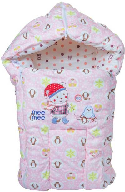 MeeMee Baby Cozy Carry Nest Bag (Baby Sleeping Bag) (Pink) Sleeping Bag
