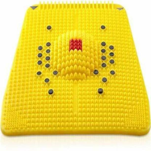 VIVAAN Acupressure Mat Relieve Stress Pain Acupuncture Massager (Yellow) Yellow 6 mm Accupressure Mat