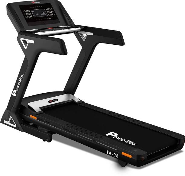 Powermax Fitness TA-C5 Premium Commercial AC Motorized Treadmill Treadmill