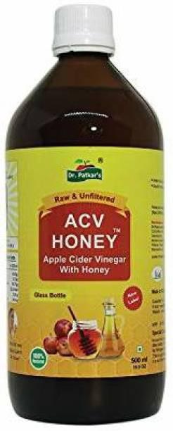Dr. Patkar's Apple Cider Vinegar With Honey 500 Ml Vinegar