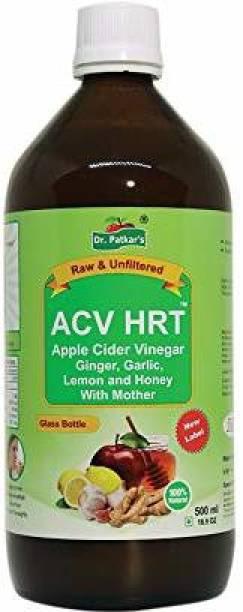 Dr. Patkar's Apple Cider Vinegar with Garlic, Ginger, Lemon and Honey 500ml Vinegar