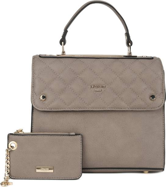 Dune London Women Grey Satchel