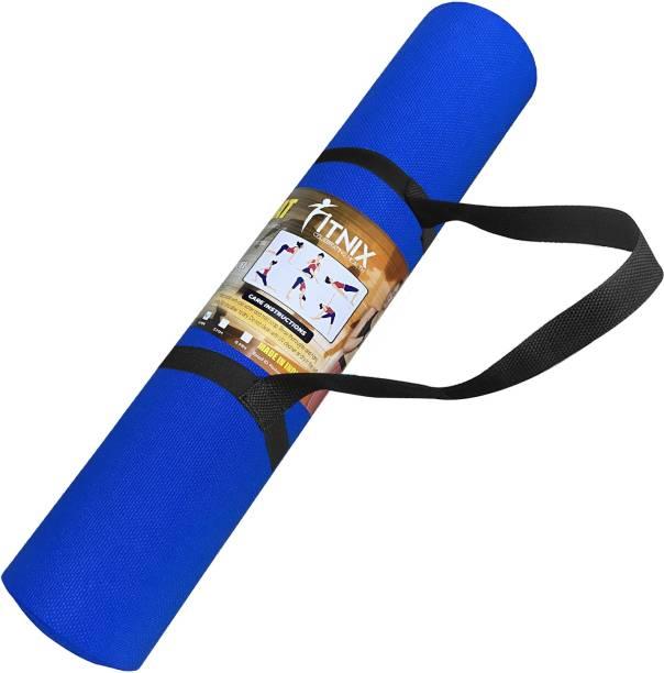Xotak Yoga Mat (Non Slip) Workout Man & woman strap & Bag for Home & Outdoor Gym Blue 4 mm Yoga Mat