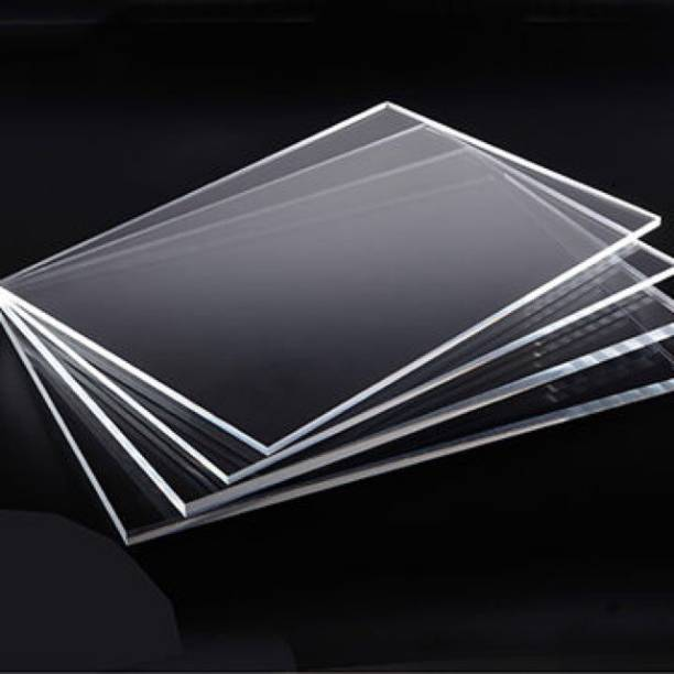 laxmi acrylic 6X4 ACRYLIC SHEET 3 MM (Pack of 2 Pieces ) 6 inch Acrylic Sheet