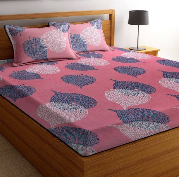 VAS COLLECTIONS 160 TC Cotton Double Printed Bedsheet