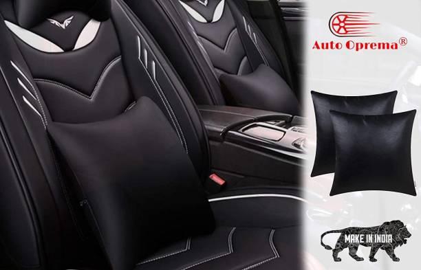 Auto Oprema Black Leatherite Car Pillow Cushion for Hyundai