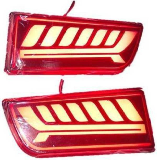 Auto Oprema Rear Bumper Reflector Led Car Reflector Scorpio Light (Red) Car Reflector Light