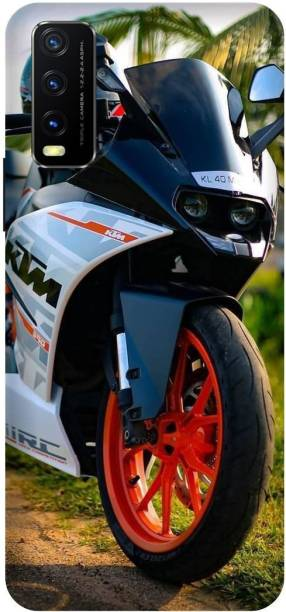 SAVETREE Back Cover for Vivo Y12s, V2033, Ktm, Bike, Back cover