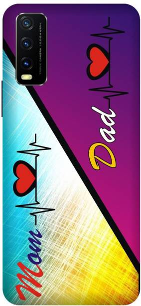 MD CASES ZONE Back Cover for Vivo Y20i Mod Dad Love Motivational Quotes Printed back cover