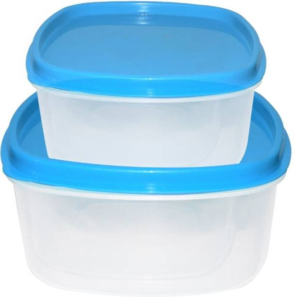 Gambit Kitchen Storage Container for Multipurpose Use ( Set of 2)  - 250 ml, 500 ml Plastic Grocery Container