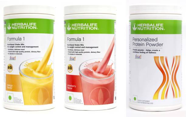HERBALIFE Weight Loss Combo of 2 PCS Formula 1 Nutritional Shake+Personalized Protein Powder Nutrition Drink