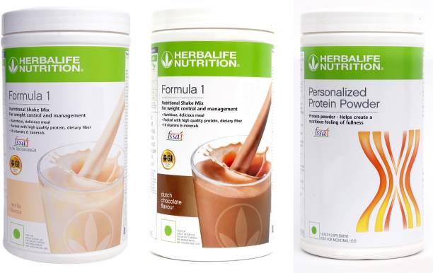 HERBALIFE Formula 1 Nutritional Shake Mix With Personalized Protein Powder For Weight Loss Nutrition Drink