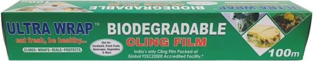 ULTRA WRAP 100 Meter Bio-Degradable Cling Film Shrinkwrap