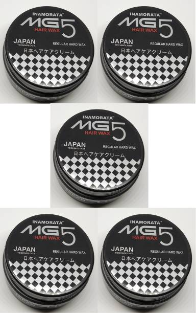MG5 INAMORATA Super Hold Hair Styler Hair Wax Pack of 5 -100 g Each Hair Gel