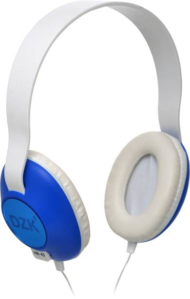 DZK On-Ear Wired Headphones with Microphone Wired Wired Headset