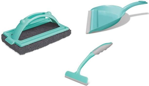 Spotzero Cleaning Combo Duster, Kitchen Wiper, Dustpan