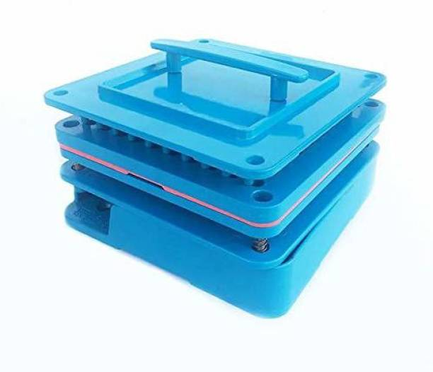 PATCO 100 Holes - Manual Empty Capsule Filling Machine/Powder Filler Board   Capsule Filling Tray (Size 000 Capsules - 1400 mg Powder Filling) Reusable Medical Tray