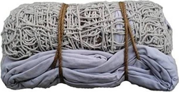 Bixxon Practice Cotton Volleyball Nets 9 Mesh Pack of 1 Nets Volleyball Net