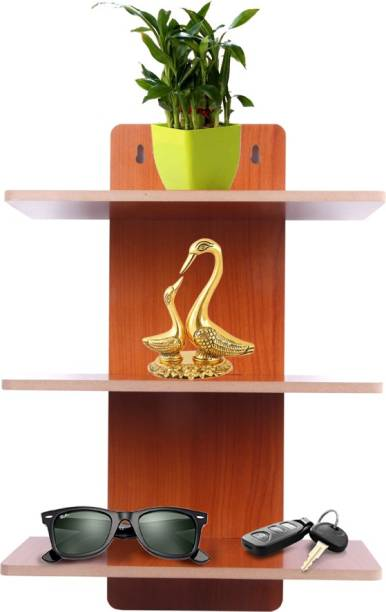 Ingeniero Solid Wood Open Book Shelf