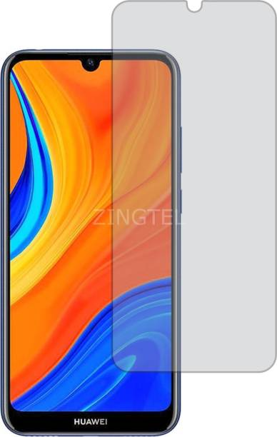ZINGTEL Tempered Glass Guard for HUAWEI HONOR Y6S (2019) (Matte Finish, Flexible)