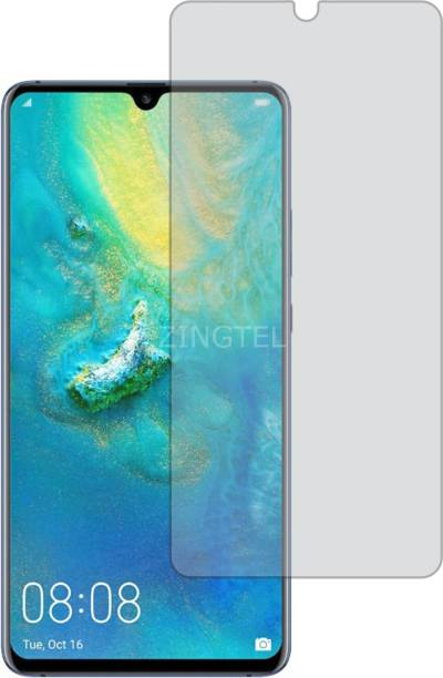 ZINGTEL Tempered Glass Guard for Huawei Mate 20 X (Matte Finish, Flexible)