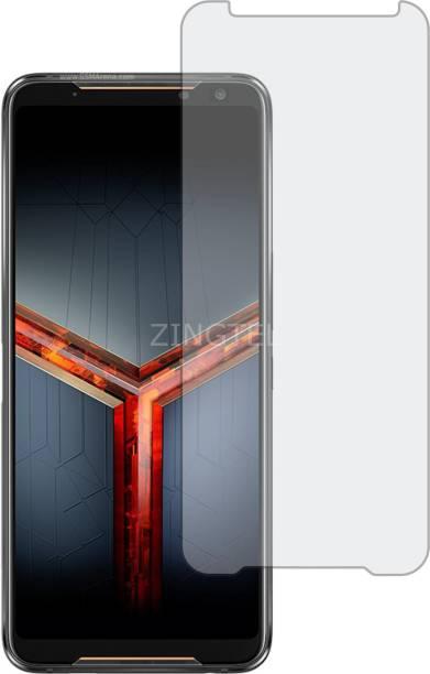 ZINGTEL Tempered Glass Guard for ASUS ROG PHONE2 (Matte Finish, Flexible)