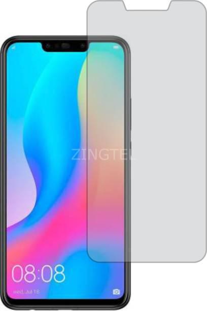 ZINGTEL Tempered Glass Guard for Huawei Honor Nova 3i (Matte Finish, Flexible)