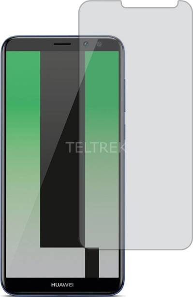 TELTREK Tempered Glass Guard for Huawei Mate 10 Lite (Matte Finish, Flexible)