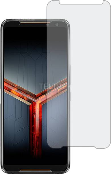 TELTREK Tempered Glass Guard for ASUS ROG PHONE 2 (Matte Finish, Flexible)