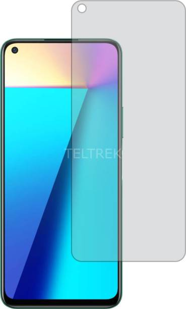 TELTREK Tempered Glass Guard for INFINIX NOTE 7 (Matte Finish, Flexible)