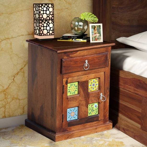 ROYAL FINISH Solid Wood End Table