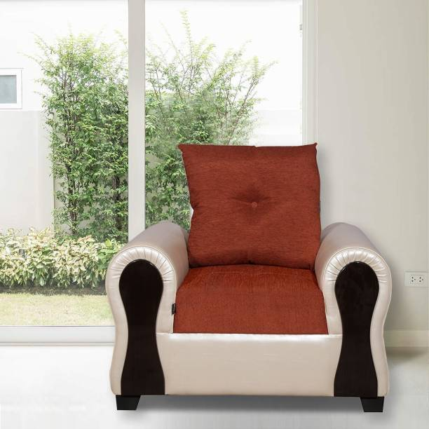 ELTOP Lifestyle Tulip Fabric 1 Seater  Sofa